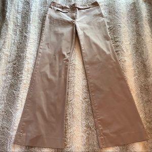 MICHAEL Kors Wide Leg Low-rise Khaki Pant Size 4
